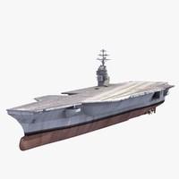 USS Gerald Ford 3D models