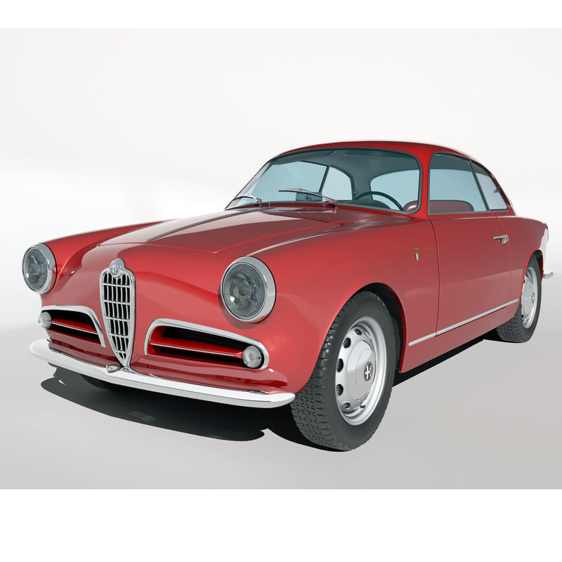 3d Alfa Romeo Veloce