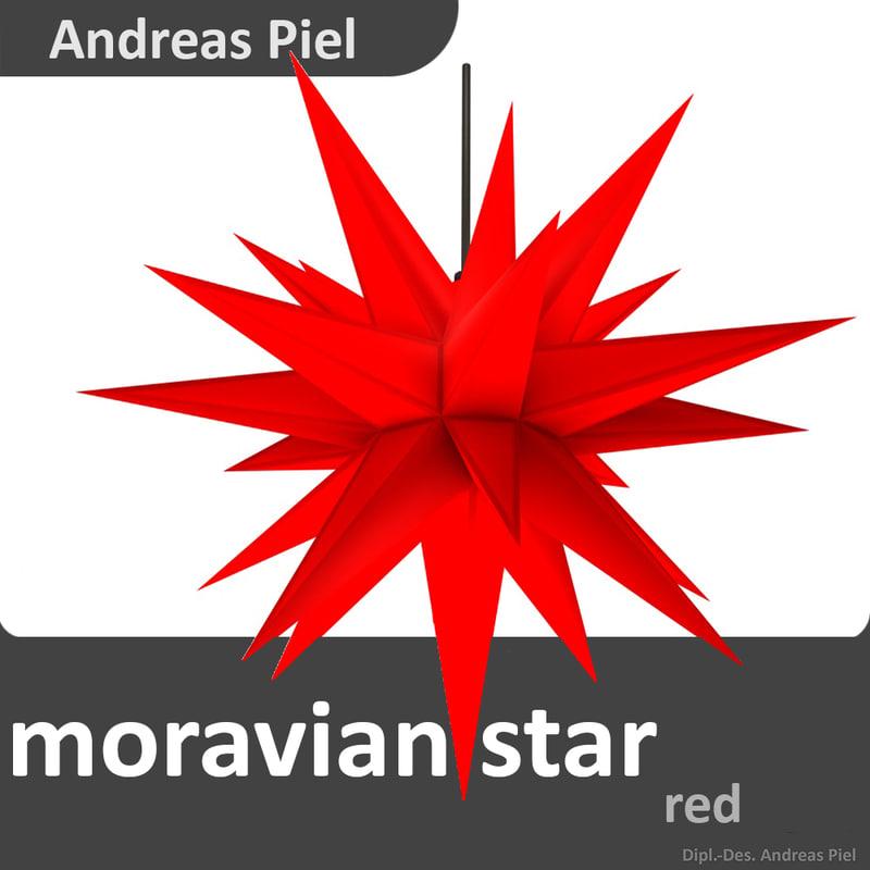 moravian star 3d c4d. Black Bedroom Furniture Sets. Home Design Ideas