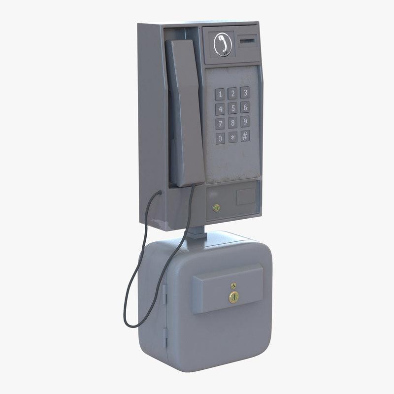 Pay Phone 3d model 00.jpg