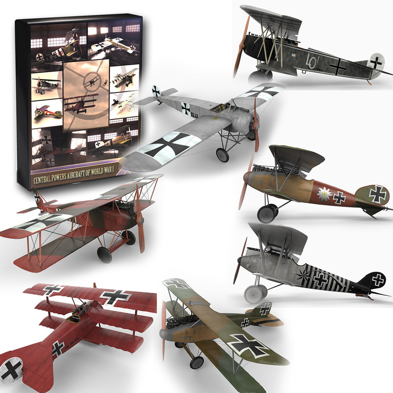 Central Powers Aircraft of World War I Collection.jpg