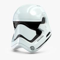 star wars characters 3D models