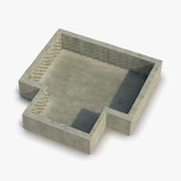 building foundation 3D models