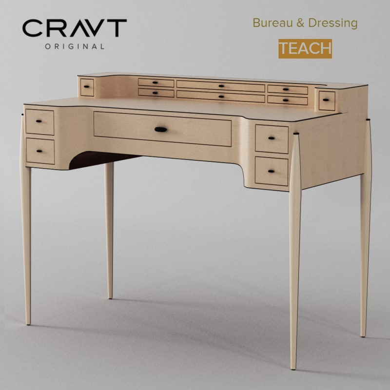 max bureau dressing desk teach. Black Bedroom Furniture Sets. Home Design Ideas