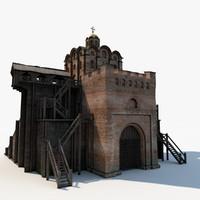 Fortress 3D models