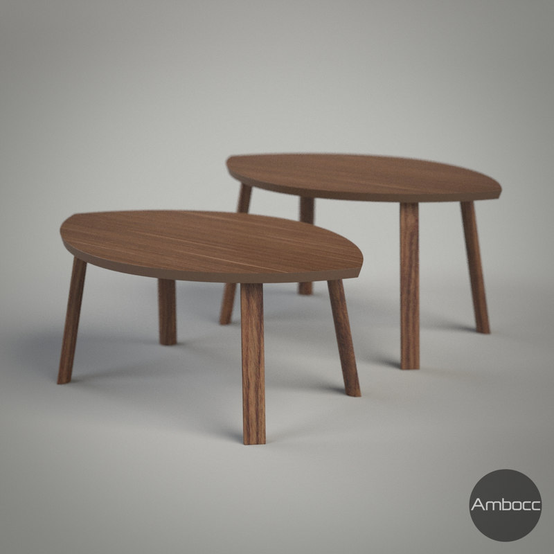 3d Ikea Stockholm Nesting Tables