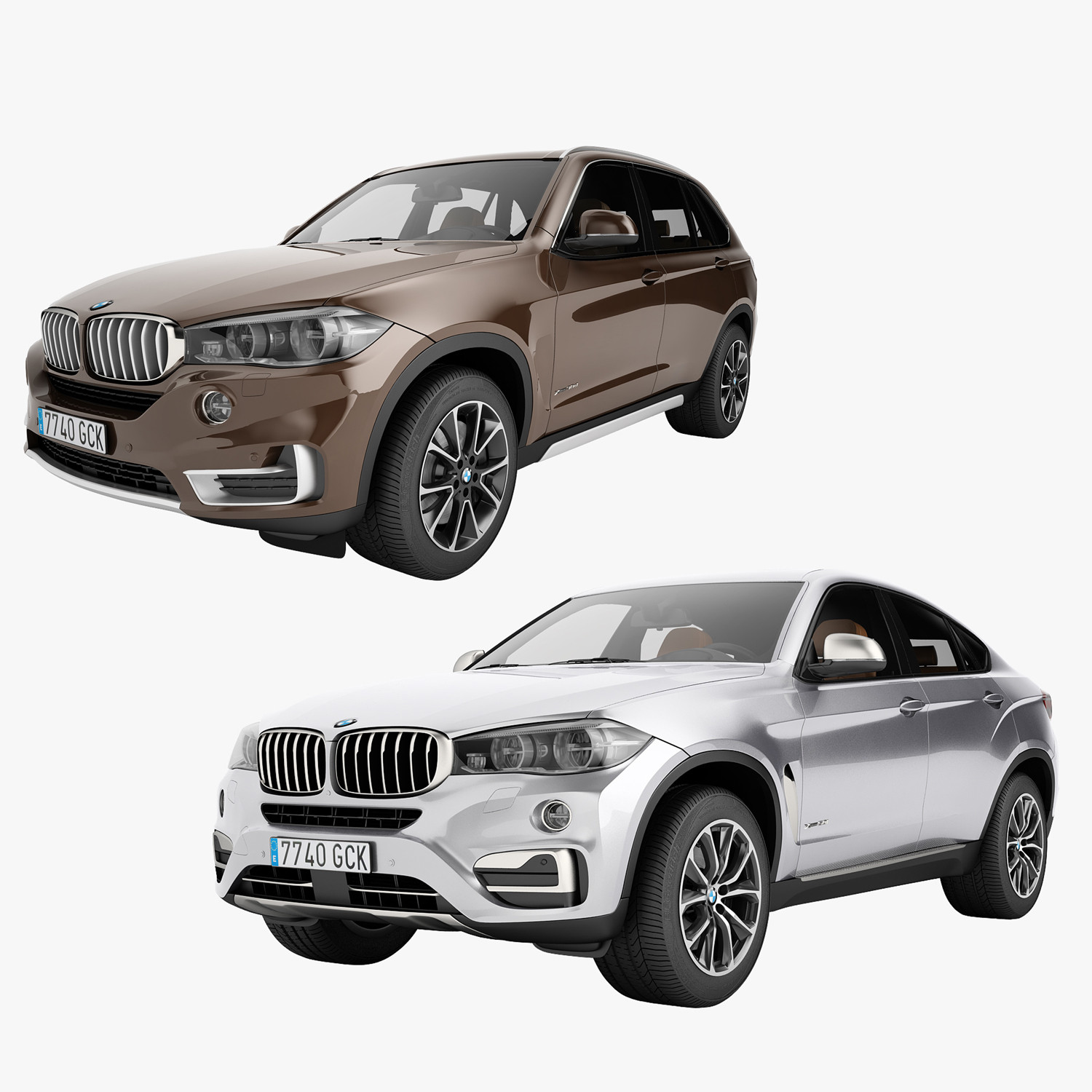 Bmw X6 Price In Germany: 3d Model Bmw X5 2015 X6