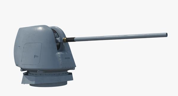 MK 45 Mark MOD2 3D Models