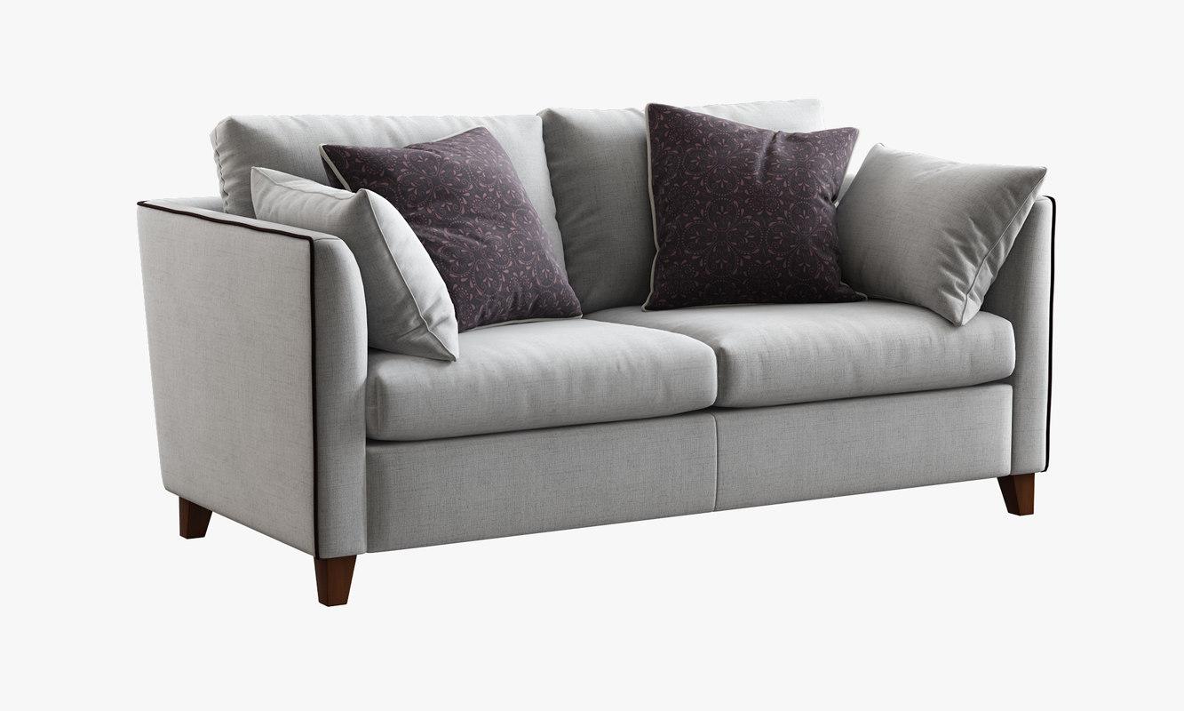 bari sofa bed 3d model
