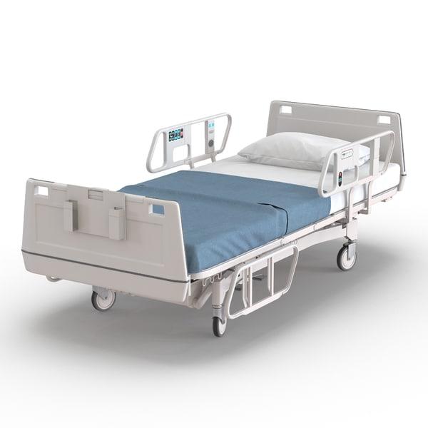 Hospital Bed 3D Models