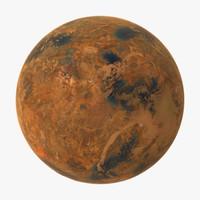 alien planet 3D models