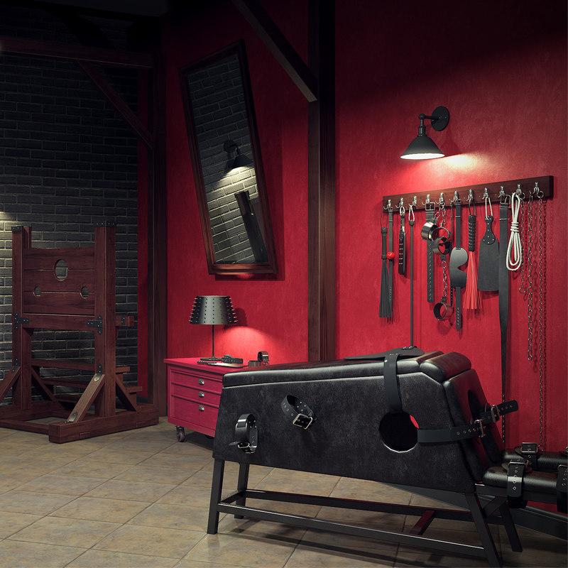 sex dungeon room