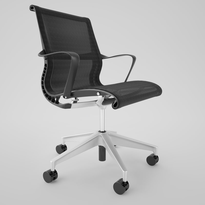 3d Herman Miller Setu Office Chair