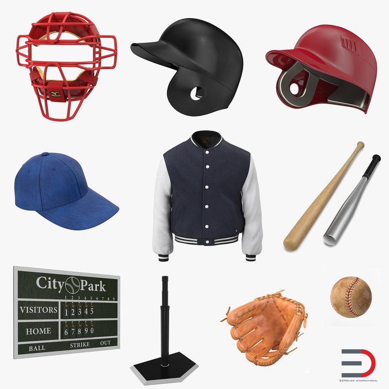 Baseball Collection 3d models 000.jpg