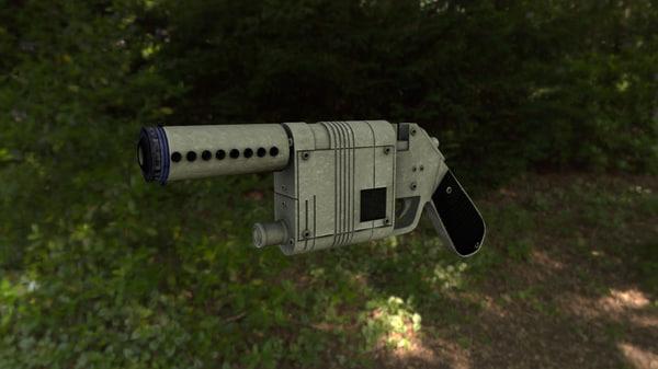 NN-14 Blaster 3D Models