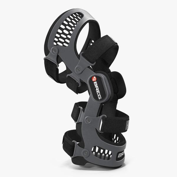 Knee Brace Breg 3D Models