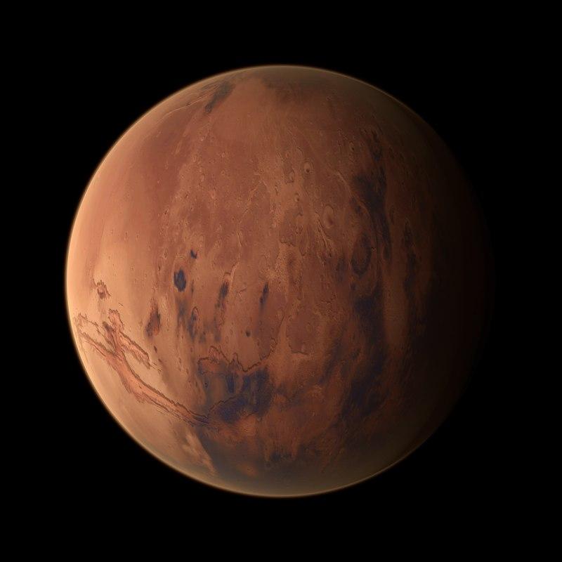 model of planet mars - photo #3