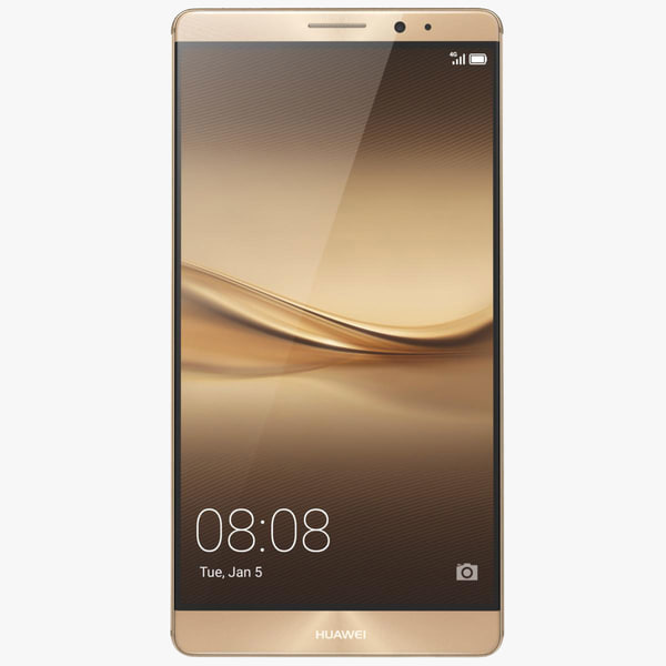 Huawei Mate 8 Champagne Gold 3D Models