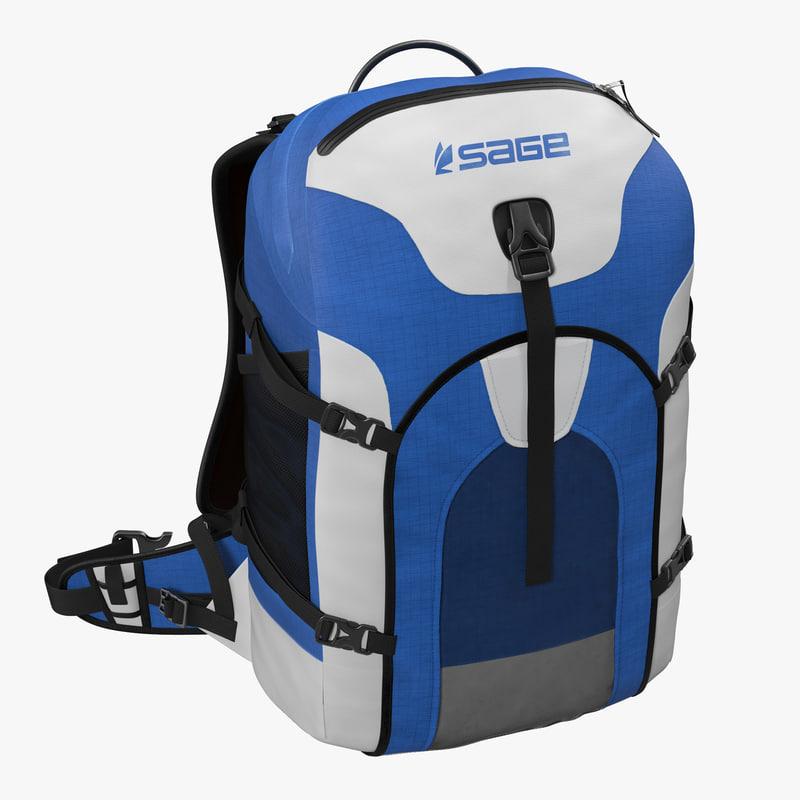 Fishing Backpack 3d model 00.jpg