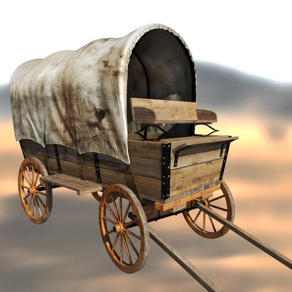 wagon 3D Models