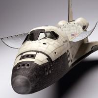 Space Shuttle Atlantis 3D models