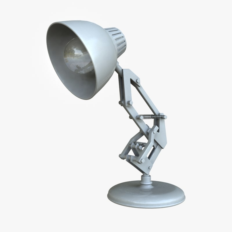 Luxo Jr Lamp Lighting Set 3d Ma