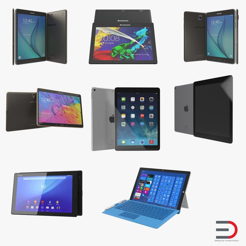 Tablets Collection 3d models 00.jpg