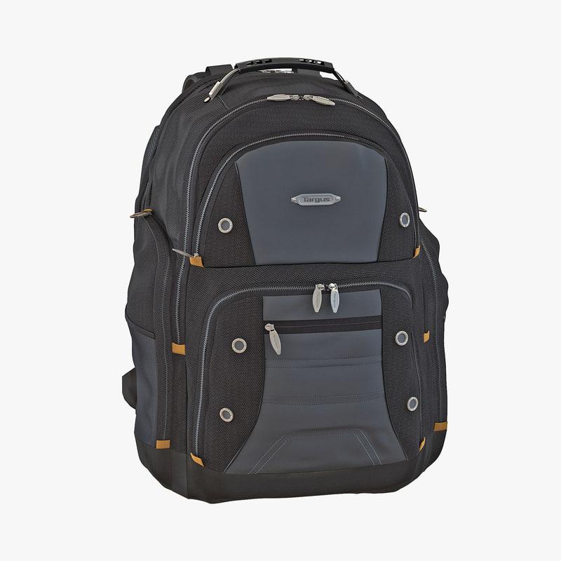 Backpack Black 3d model 00.jpg