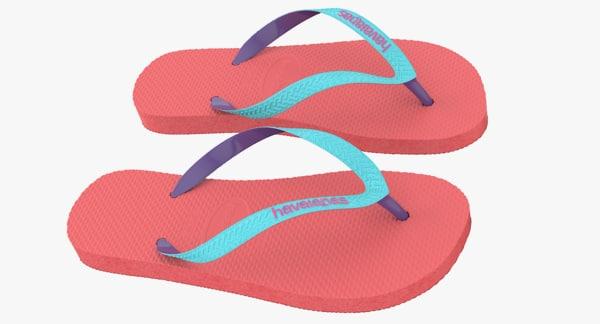 Sandals 2 3D Models