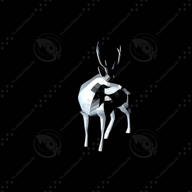 low poly deer_1.jpg