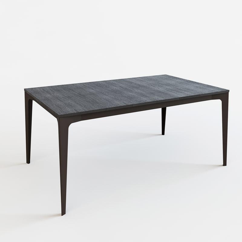 Table Jag Alf Dafre 3d Max