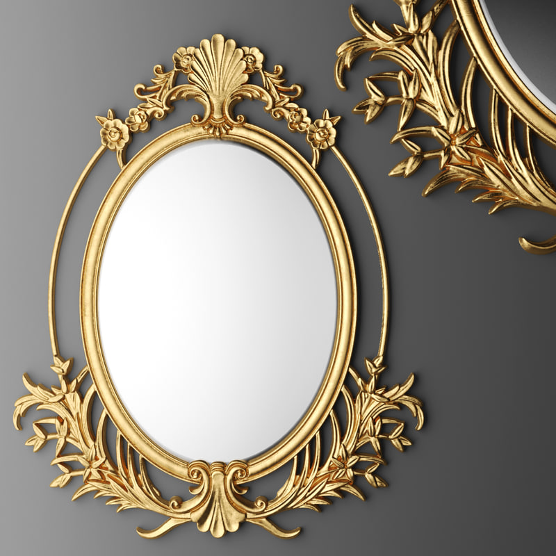 Max baroque oval frame for Baroque oval mirror