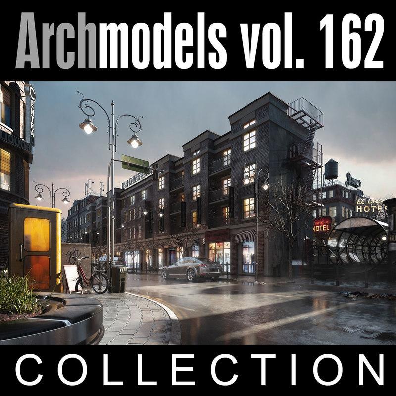3d model archmodels vol 162 for 3d models torrent