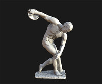 Discus Thrower 3D models