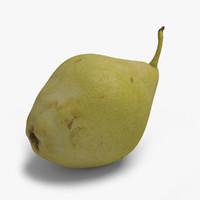 Pear 3D models