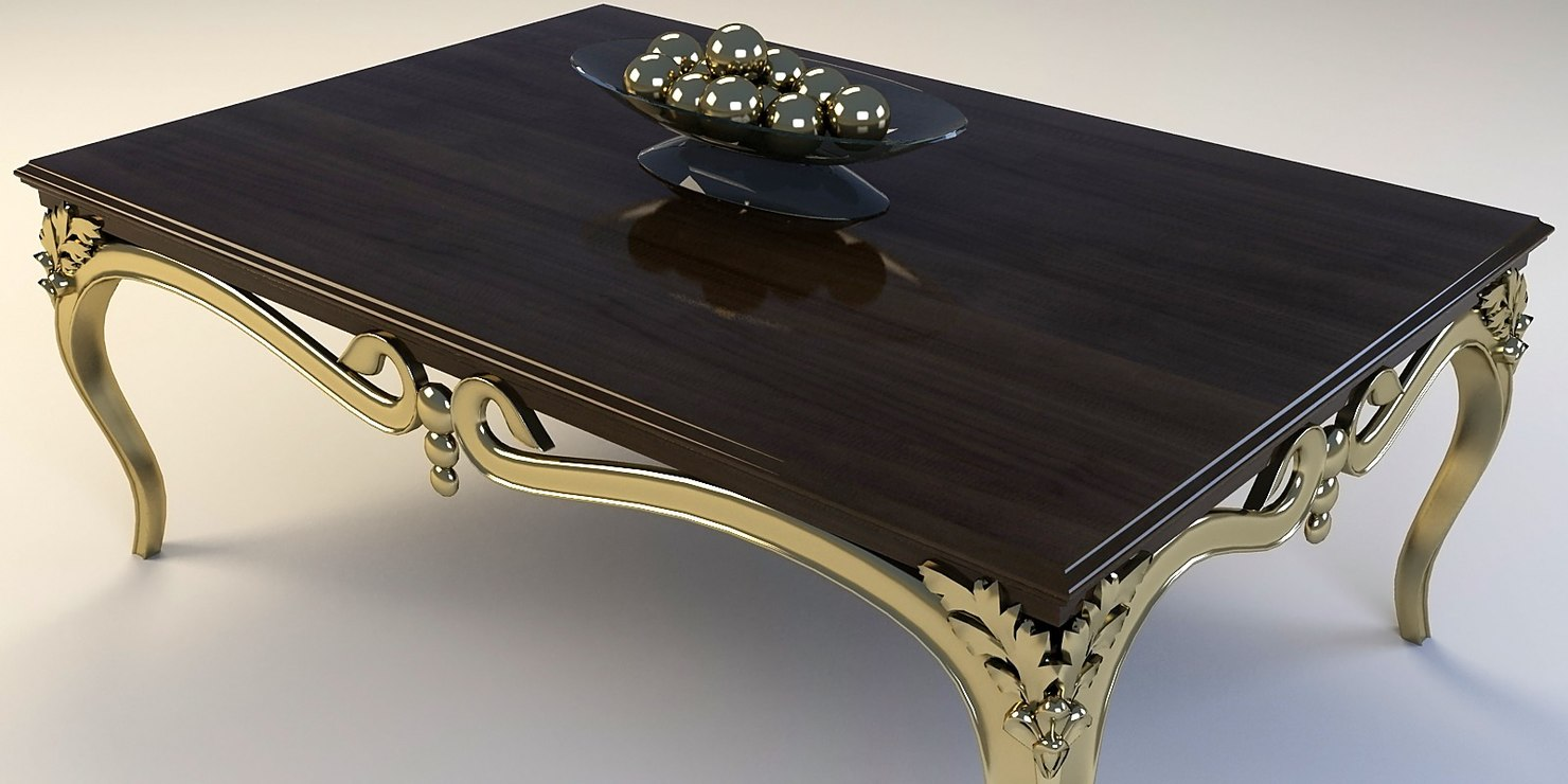 3d coffee table for Coffee table 40 x 24