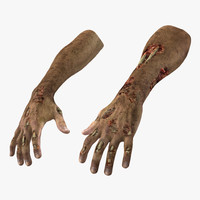 Zombie Arm Decoration 3D models
