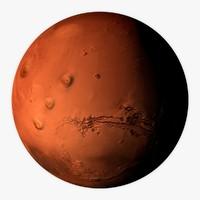 mars 3D models
