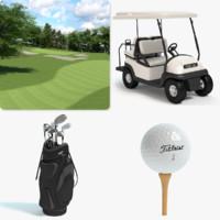 golf tee 3D models