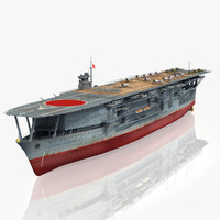 ticonderoga class carrier 3D models