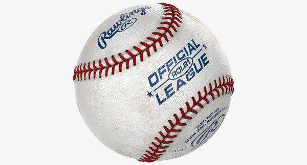 Baseball ROLB1 League 3D Models