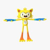mascot 3D models