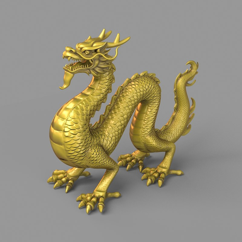 chinese dragon 3d model - photo #11