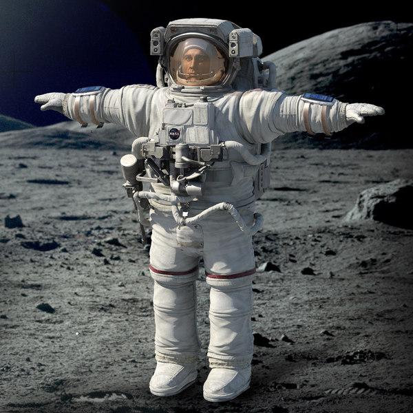 Astronaut 3D Models