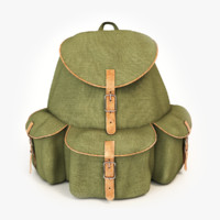 Military Backpack 3D models