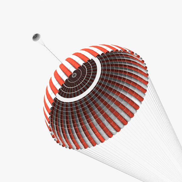 Ringsail Parachute 3D Models