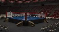 boxing arena 3D models