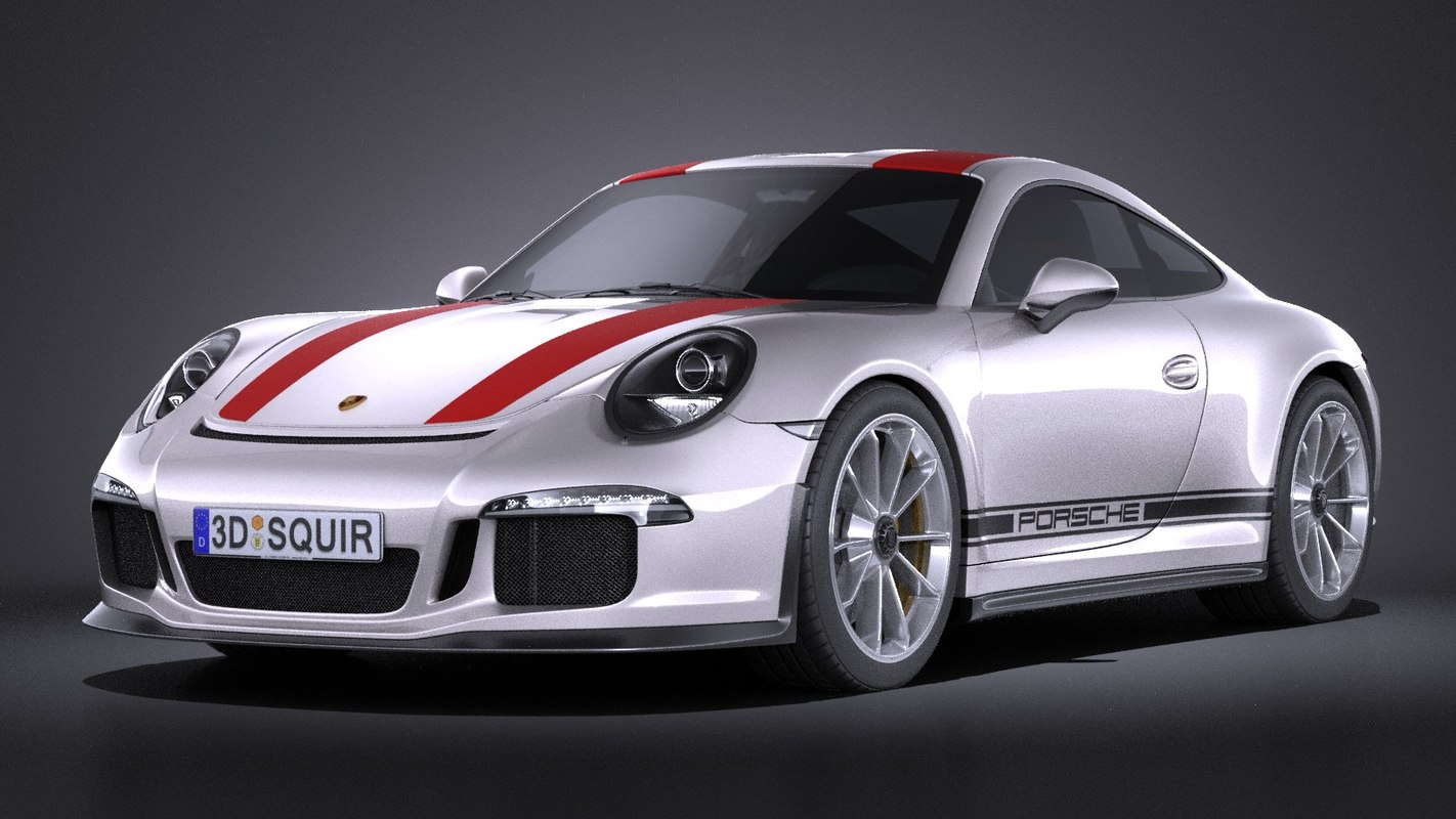porsche 911 r 3d model. Black Bedroom Furniture Sets. Home Design Ideas