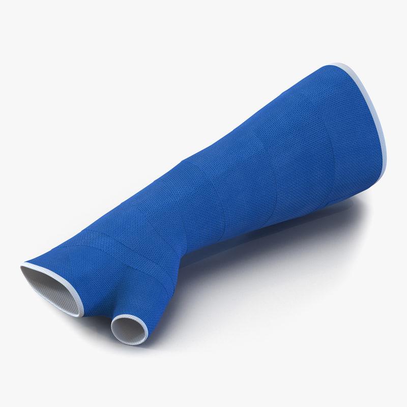 Fiberglass cast vibrator