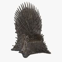 Throne 3D models